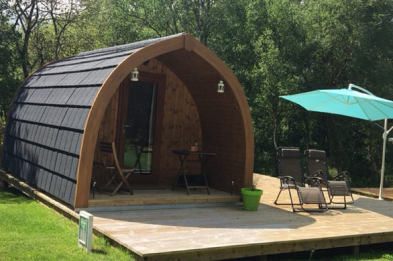 Magpie Glamping Pod