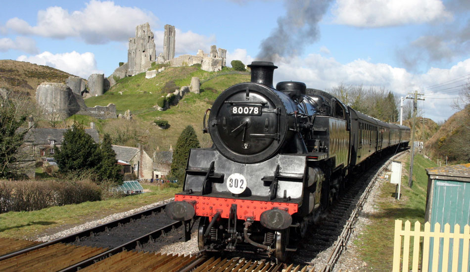 Corfe Castle trains