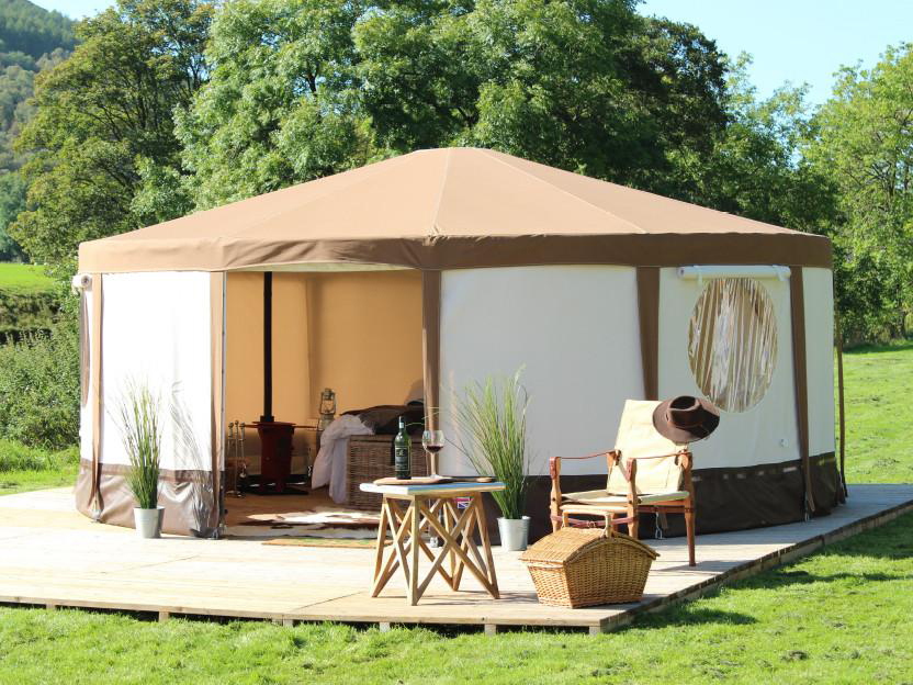 New luxury yurt