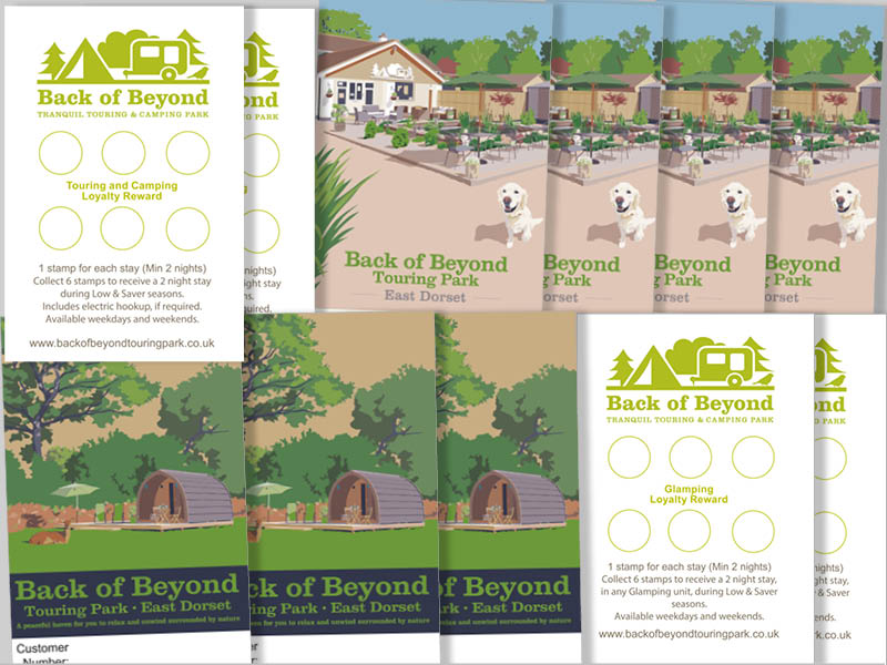 Back of Beyond touring and glamping loyalty cards